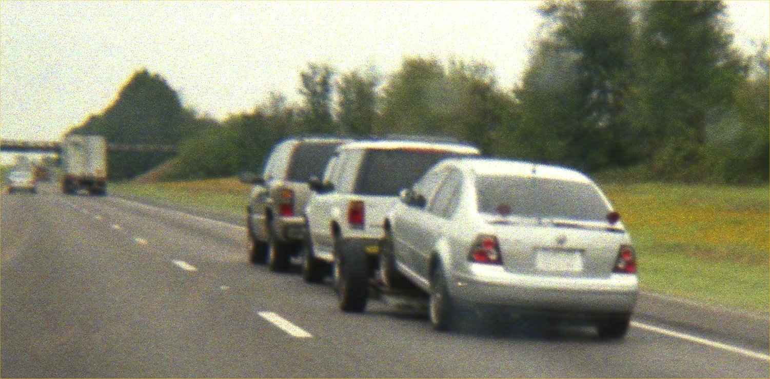 Towing Two Vehicles